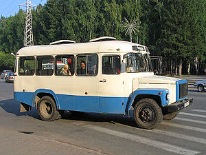 GAZ Sadko - KAvZ-3976 bus on Sadko chassis