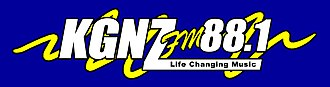 KGNZ - Current KGNZ Logo