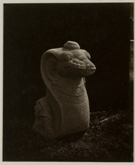 KITLV 28238 - Isidore van Kinsbergen - Naga sculpture at the residency in Kediri - 1866-12-1867-01.tif