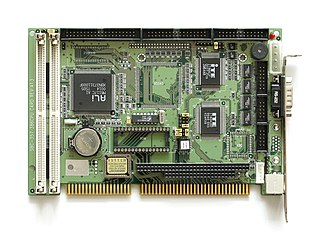 ALi Corporation - ISA card with ALi M6117.