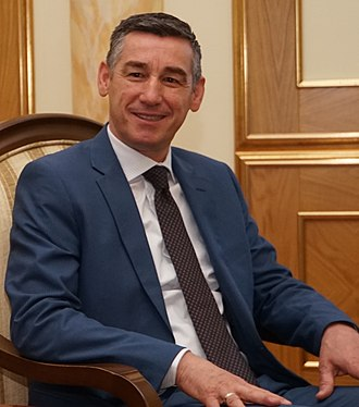 Chairman of the Assembly of Kosovo - Image: Kadri Veseli 2017