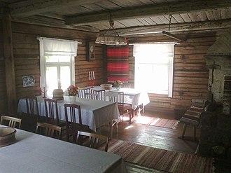 Maaninka - Image: Kalapuro House in Tuovilanlahti, Maaninka, Finland 2