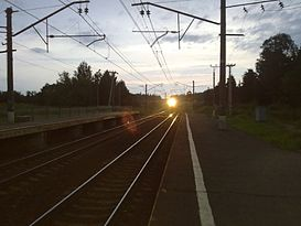 Kalistovo station sunset.jpg