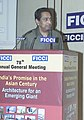 "Kamal Nath addressing the Special Luncheon Session on ""Trade, Globalisation and WTO Hong Kong and Beyond"", organised by the Federation of Indian Chambers of Commerce and Industry (FICCI), in New Delhi on December 23, 2005.jpg"