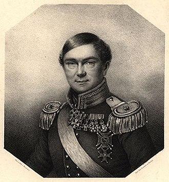 Karl Ferdinand von Gräfe - Lithograph of Karl Ferdinand von Gräfe