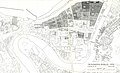 Kart over bybranner fram til 1976 - Trondheims bybilde (1976) (13307660603).jpg