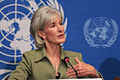 Kathleen Sebelius - UN Press Conference May 2010.jpg