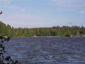 Johan Gabriel Oxenstierna - A view of lake Kolsnaren, by which Oxenstiernas childhood home is found.