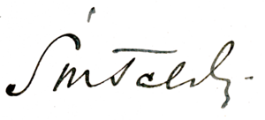 Kazimierz Świtalski - Image: Kazimierz Świtalski signature