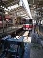 Keikyu 1500 series at Keikyu Kawasaki Station (47985495737).jpg
