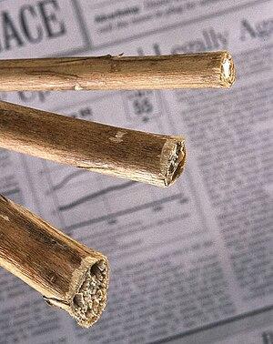Kenaf - Dried Kenaf stems