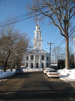 Kennebunkport, Maine - Image: Kennebunkport South Congregational Church 2004 12 03