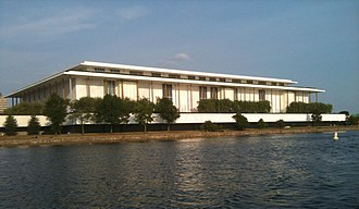 Kennedy Center seen from the Potomac River, June 2010.jpg