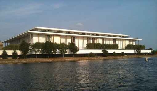 Kennedy Center seen from the Potomac River, June 2010