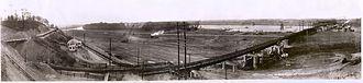 Kentucky Dam - Construction of the dam