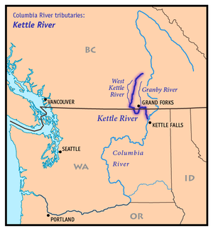 Kettle River Columbia River Tributary Wikipedia