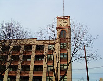 Hoboken, New Jersey - The Keuffel and Esser Manufacturing Complex was converted into residential apartments in 1975