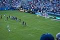 Kevin de Bruyne free kick (Otamendi goal) (35805456914).jpg