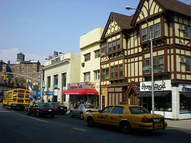 Homestead Gourmet Shop and other stores on Lefferts Boulevard
