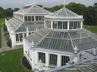 greenhouse in Kew Gardens, London