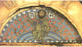 Khakhuli icon. Christ on rainbow.jpg