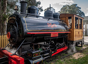 Davenport Locomotive Works - Image: Kiama 0 4 0ST Locomotive a