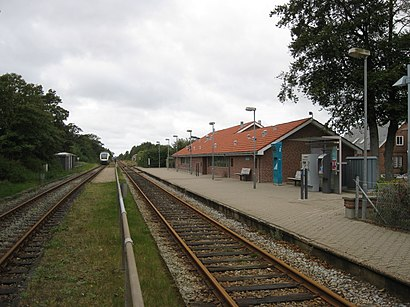 How to get to Kibæk St. with public transit - About the place