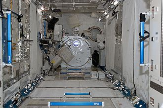 Kibo (ISS module) - Interior of the Pressurized Module