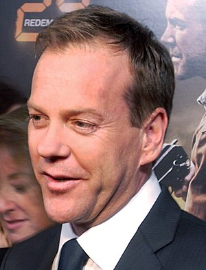 The Falcon and the D'ohman - The episode marks the third guest appearance from actor Kiefer Sutherland on The Simpsons.