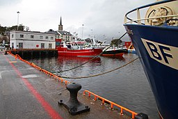 Fiskehamn i Killybegs