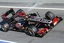 Kimi Raikkonen 2013 Catalonia test (19-22 Feb) Day 2-1.jpg