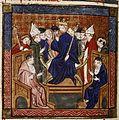 King Philippe, nicknamed Dieudonné passes judgement on heretics.jpg