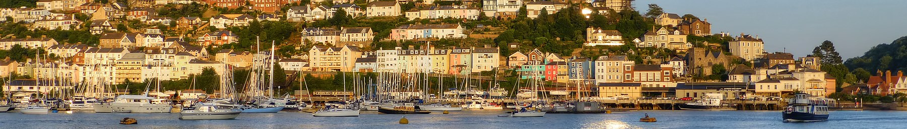 Kingswear in the evening