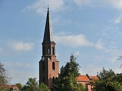 Kirchturm, Dorfstraße, Wulkau (OT Kamern).jpg