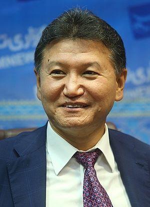Kirsan Ilyumzhinov - Image: Kirsan Ilyumzhinov in Tasnimnews Agency