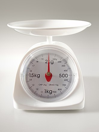 Kilogram - Measurement of weight – gravitational attraction of the measurand causes a distortion of the spring