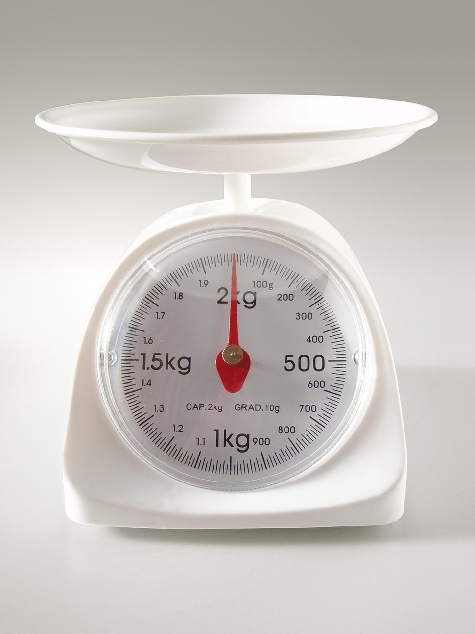 Kitchen scale 20101110