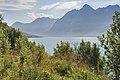 Kjosen towards east, Lyngen, Troms, Norway, 2014 August.jpg