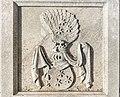 Klagenfurt Pfarrkirche St Georgen Grabplatte Wappenrelief von Sterneck 28052016 2112.jpg