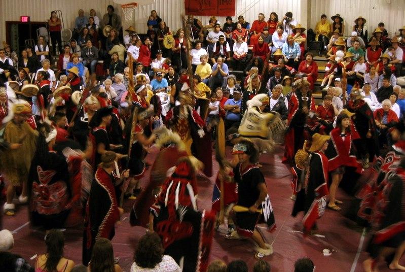 Klawock-dancing