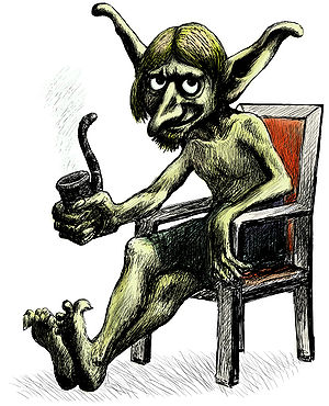 Illustration of a goblin