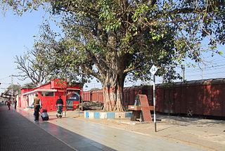 Koderma Junction railway station Railway station in Jharkhand