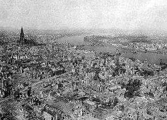 Cologne - The devastation of Cologne, 1945