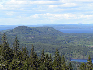 Koli National Park - An elevated view at Koli