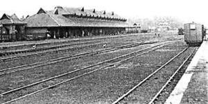 Kollam Junction railway station - Kollam railway station in 1905
