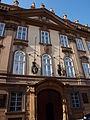 Kolovratský palác (Praha, Valdštejnská) čelo.JPG
