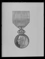 Konung Gustav Vs olympiska medalj 1912, silver, 8-e storleken - Livrustkammaren - 79591.tif