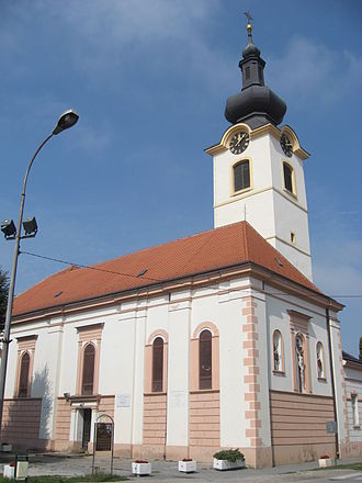 Koprivnica - Church of Saint Nicholas