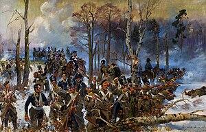 Battle of Olszynka Grochowska - Arsenal taken