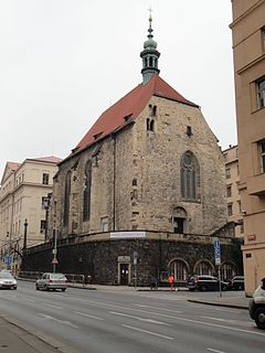 St. Wenceslas Church (Zderaz) church in Prague, Czechia